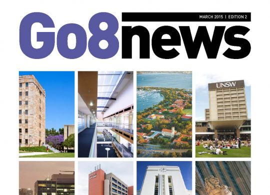 Go8 News - March 2015